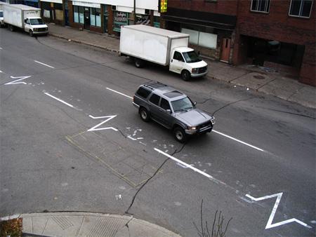 EKG street art