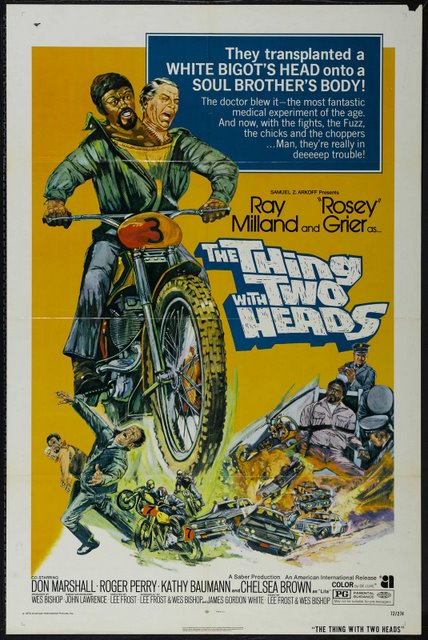 The Thing With Two Heads B-Movie poster