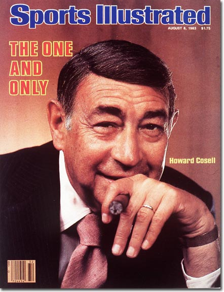 Howard Cosell Sports Illustrated cover