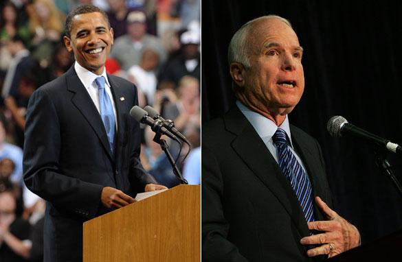Obama McCain speeches