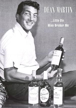 Dean Martin alcohol ad