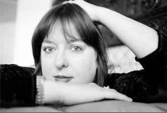 Julie Burchill bw