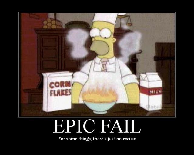 Homer epic fail