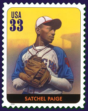 Satchel Paige stamp