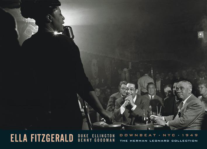 Ella Fitzgerald sings for Duke Ellington and Benny Goodman