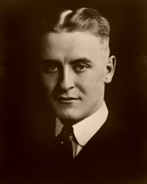 F Scott Fitzgerald portrait