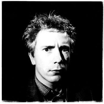 John Lydon black and white