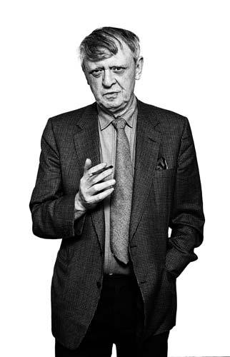 Anthony Burgess with cigar