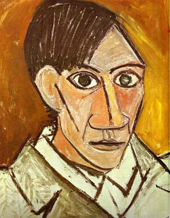 Pablo Picasso Self-Portrait 1907
