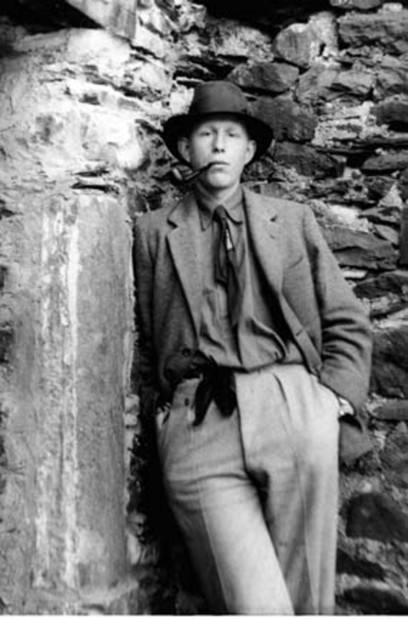 WH Auden as young man