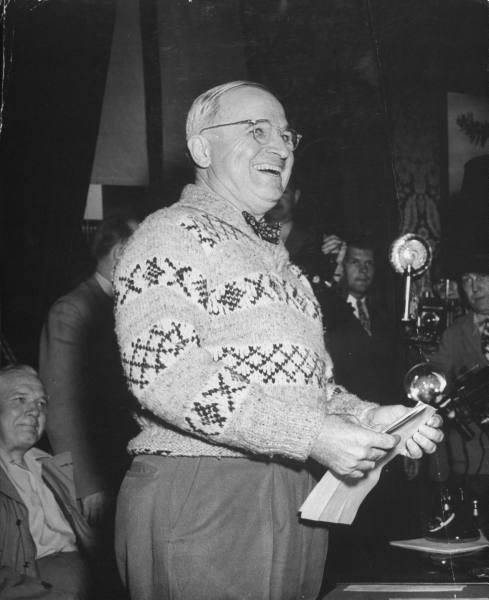 Harry S Truman Life magazine 1945