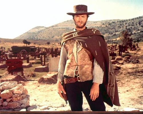 Clint Eastwood spaghetti westerns poncho