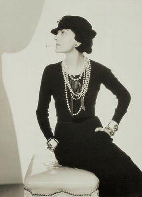 Coco Chanel portrait