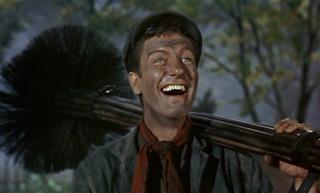 Dick Van Dyke in Mary Poppins