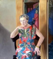 Elizabeth Bowen painting
