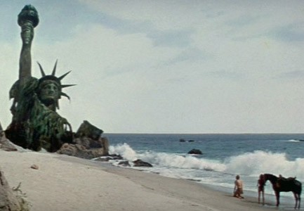 Planet of the Apes ending Statue of Liberty