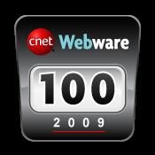 Cnet Webware 100 2009 button