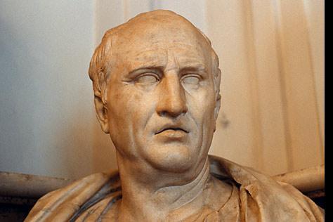 Cicero statue