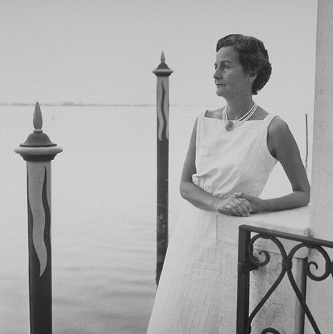 Nancy Mitford in Venice