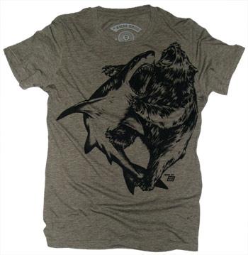 Shark vs Bear Shirt
