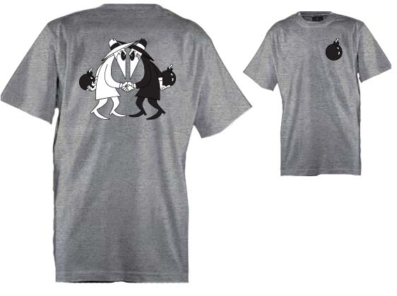 T shirt Spy vs Spy Mad magazine