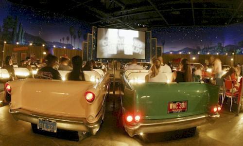 Sci Fi Drive In Theatre Restaurant