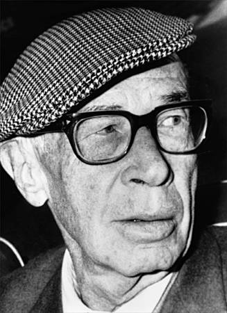 Henry Miller with cap