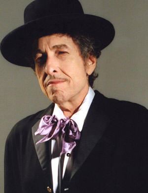 Bob Dylan hat mustache