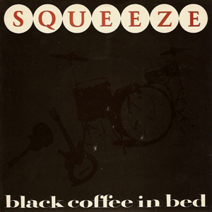 Squeeze Black Coffee in Bed single cover