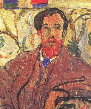 Lytton Strachey painting