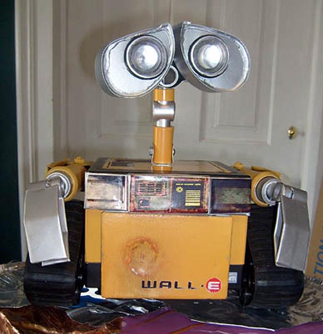 Homemade Wall-E