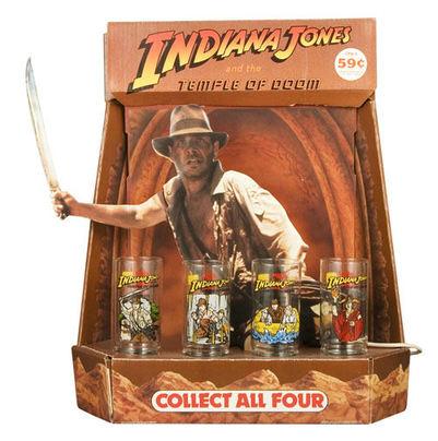 Indiana Jones collectible glasses