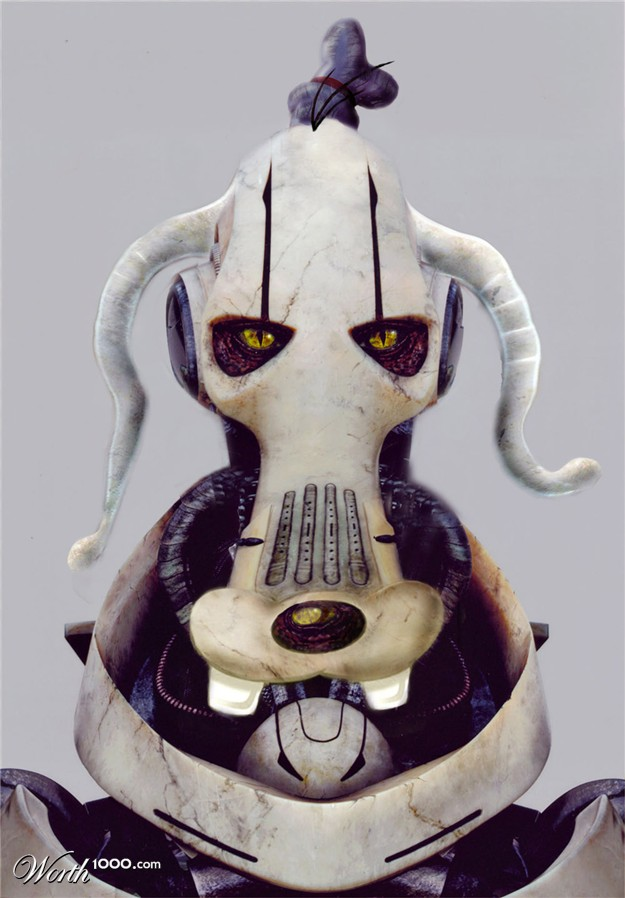 General Grievous with Goofy