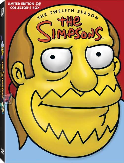 Simpsons Season 12 DVD package Comic Book Guy