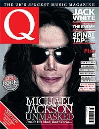Q magazine cover Michael Jackson