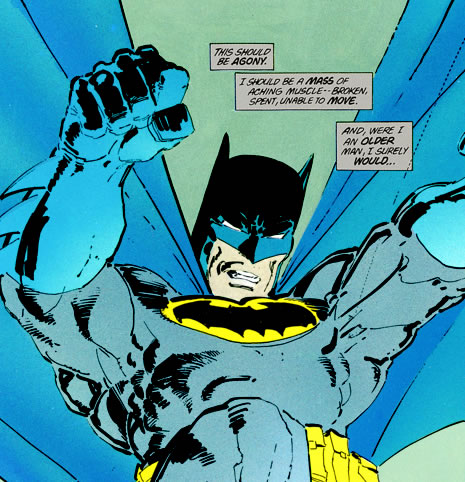 Batman Dark Night Returns detail