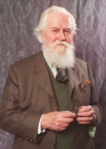 Robertson Davies portrait