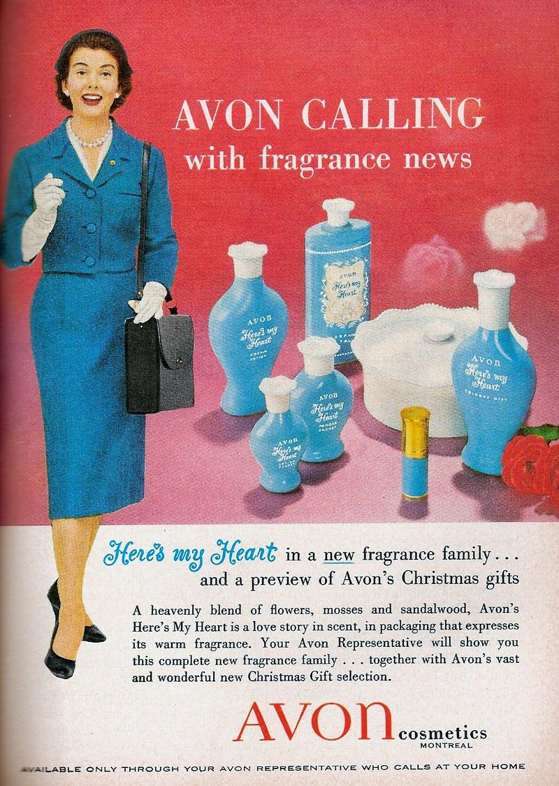 Avon Calling With Fragrance News advertisement