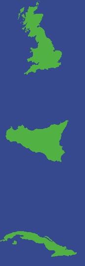 Islands grab from Mental Floss quiz