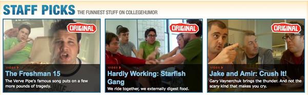 College Humor screengrab