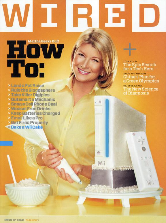 Wired Martha Stewart cover