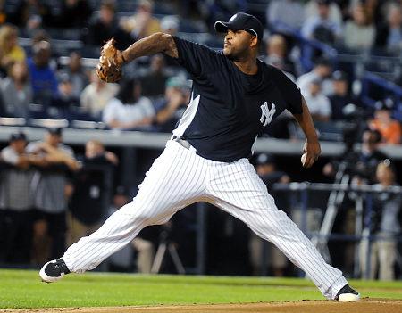 CC Sabathia New York Yankees