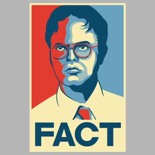 Dwight Schrute Fact T-shirt