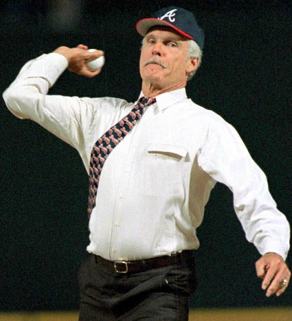 Ted Turner Getty Images Atlanta Braves