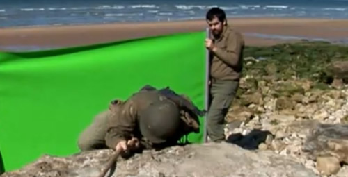 Omaha beach invasion special effects
