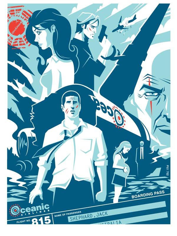 Lost Eric Tan poster