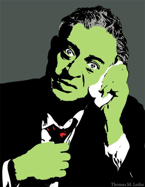 Rodney Dangerfield illustration