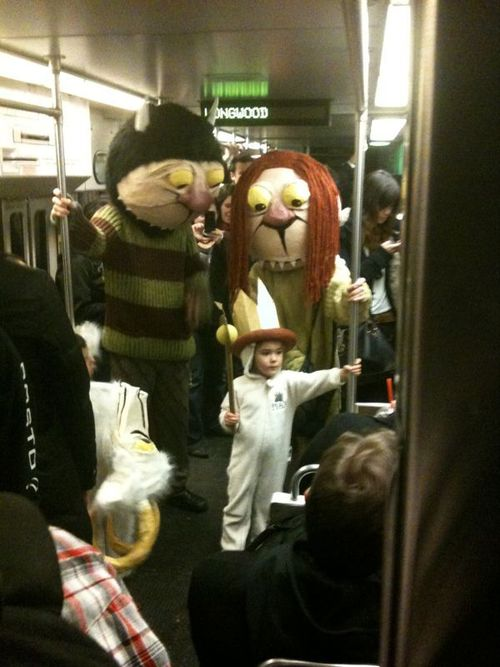Where the Wild Things Are family Halloween costume