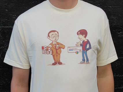 PC Mac witty retort loading Tshirt