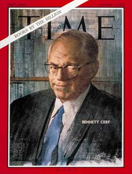 Bennett Cerf Time magazine